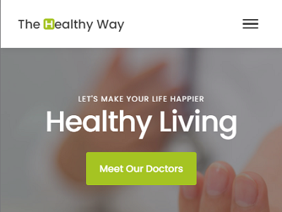 TheHealthyWay website